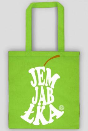 Jem jabłka (#jedzjablka, #jedz jabłka) by Szymy.pl - torba