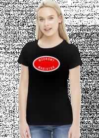 Wzorowy magister - koszulka damska