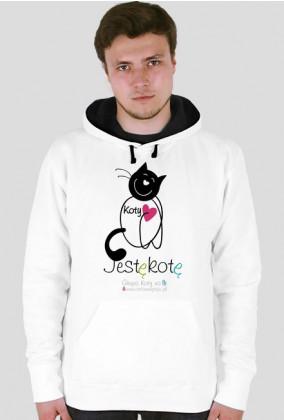 Jestę Kotę bluza z kapturem